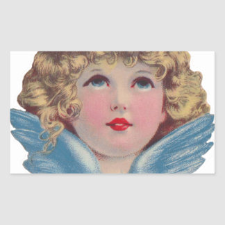 Victorian Angel in Blue