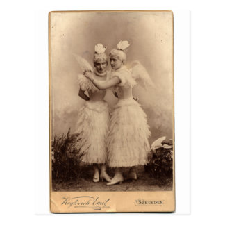 Victorian Angels Postcard