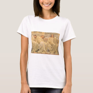 Victorian Art, Dreamers by Albert Joseph Moore T-Shirt
