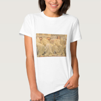 Victorian Art, Dreamers by Albert Joseph Moore Tshirts