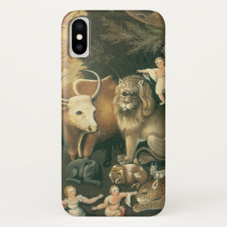 Victorian Art, Peaceable Kingdom by Edward Hicks Case-Mate iPhone Case