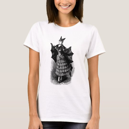 Victorian Bat Girl Steampunk Shirt