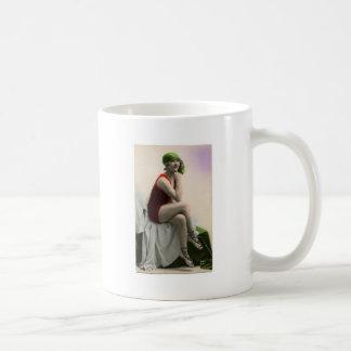 Victorian Bathing Beaty Coffee Mug