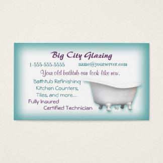 Victorian Bathtub Business card- customize Business Card