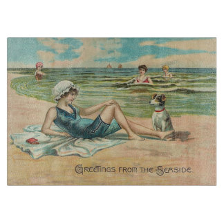 Victorian Beach Swimsuit Girl Boards