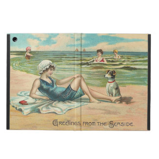 Victorian Beach Swimsuit Girl Cover For iPad Air