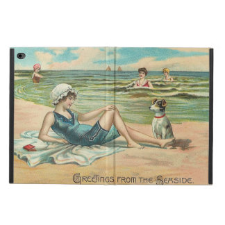 Victorian Beach Swimsuit Girl Powis iPad Air 2 Case
