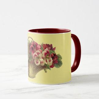 Victorian Blossom Basket Combo Mug
