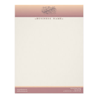 Victorian Blush Customized Letterhead