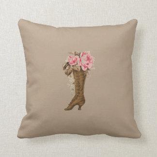 Victorian Boot Pillow