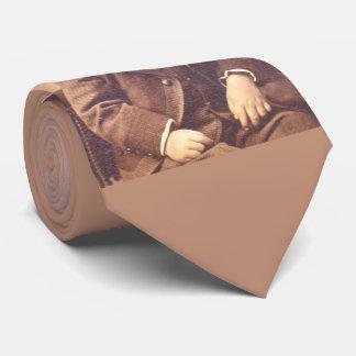 Victorian boy with unfortunate hair style tie