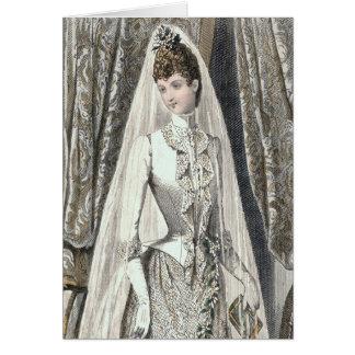 Victorian Bride Card