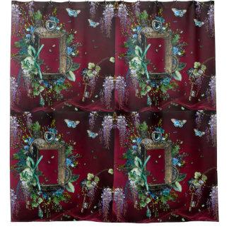 Victorian Burgundy Mist Lavender Wisteria frame