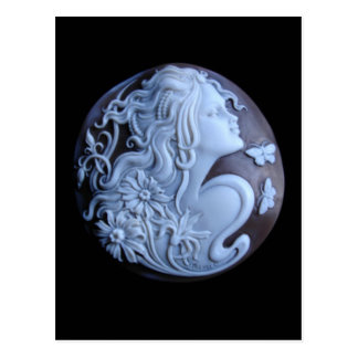 Victorian Cameo Post Card