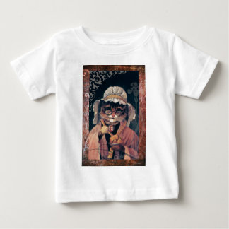 Victorian Cat Lady Tea Cup Baby T-Shirt