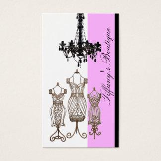 Victorian Chandelier Boutique business cards