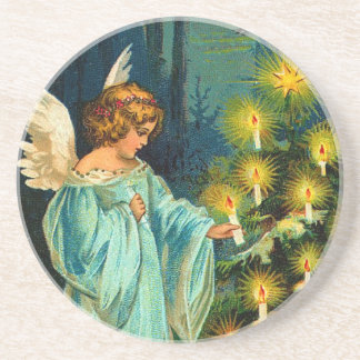 Victorian Christmas Angel Coaster