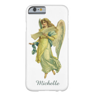 Victorian Christmas Angel, Gloria in Excelsis Deo Barely There iPhone 6 Case