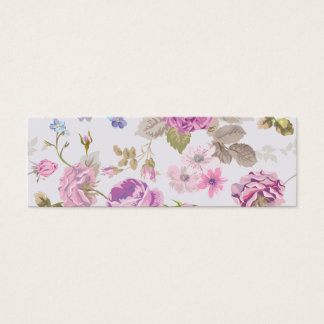 Victorian,country,lavender,shabby,chic,roses,paris Mini Business Card