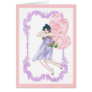 Victorian Faerie Card