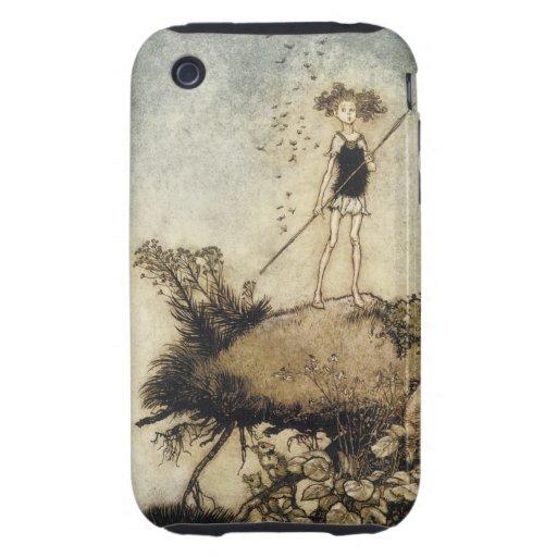 Victorian Faerie iPhone 3 Tough Cases