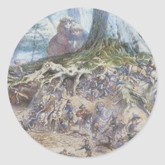 Victorian Faerie Sticker - Child's Wonder