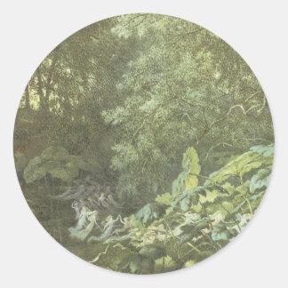 Victorian Faerie Sticker - Forest Fae
