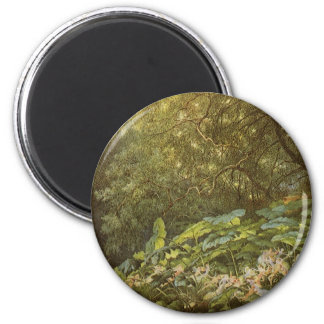 Victorian Fairies, Under the Dock Leaves by Doyle 2 Inch Round Magnet
