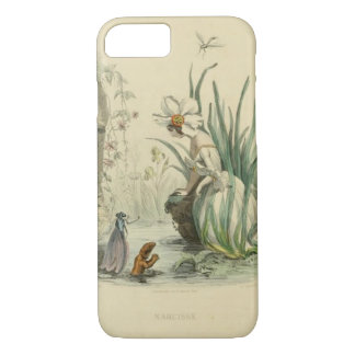 Victorian Fantasy Flowers - Narcissus iPhone 8/7 Case