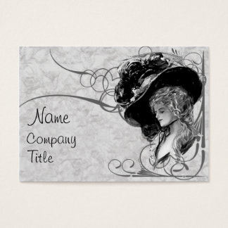 Victorian Fashion Business Card