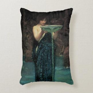 Victorian Fine Art, Circe Invidiosa by Waterhouse Decorative Pillow