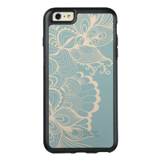 Victorian Floral Border OtterBox iPhone 6/6s Plus Case