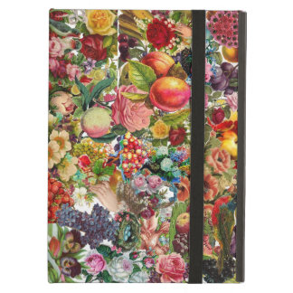 Victorian Floral Collage iPad Case