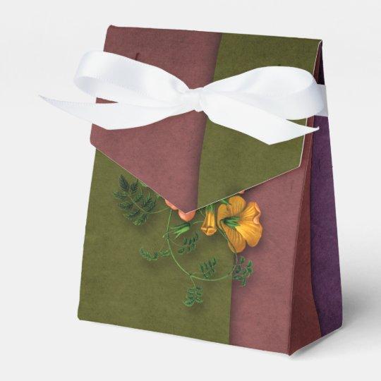Victorian Floral Favor Boxes