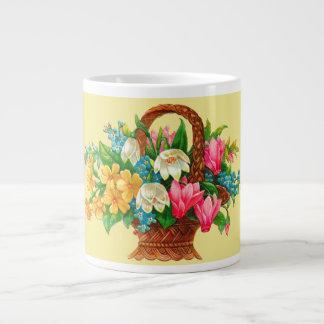 Victorian Flower Basket Specialty Mug