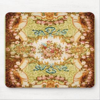 Victorian Flower Designs Mousepad