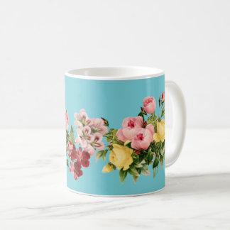 Victorian Flowers Classic Mug
