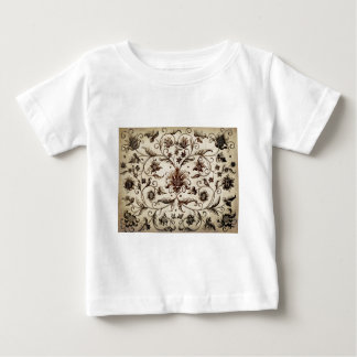 victorian flowers texture baby T-Shirt