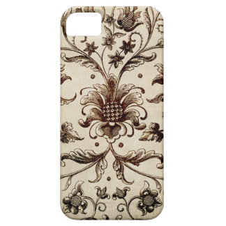 victorian flowers texture iPhone 5 cover