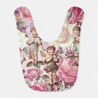 Victorian Garden Baby Bib
