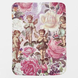 Victorian Garden Baby Blanket