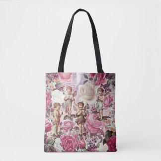 Victorian Garden Tote Bag