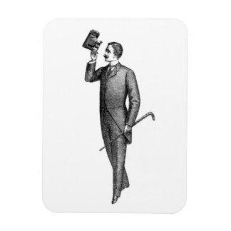 Victorian Gentleman Selfie Magnet