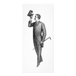 Victorian Gentleman Selfie Rack Card