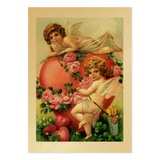 Victorian Gift Tags Sweetest & Valentine's Day Large Business Card