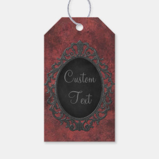Victorian Goth Custom Personalized Gift Tag