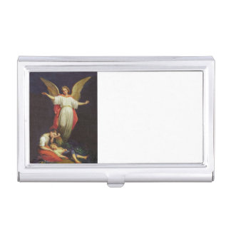 Victorian Guardian Angel Business Card Holder