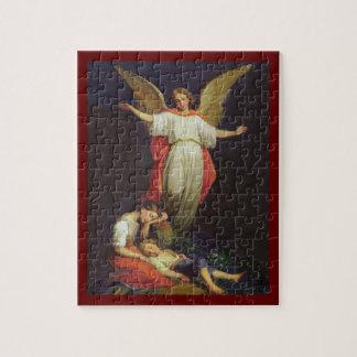 Victorian Guardian Angel Jigsaw Puzzle