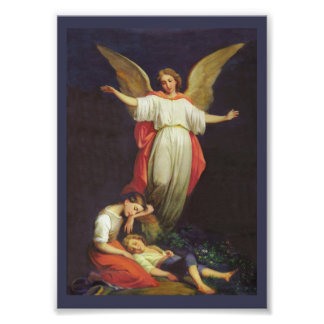 Victorian Guardian Angel Photo Print
