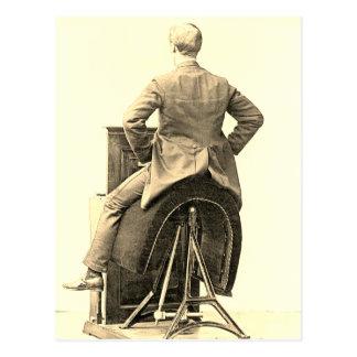 Victorian Gym Equipment Postcard